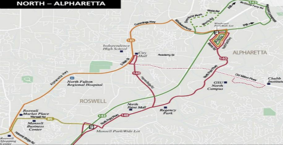 Infrastructure Alpharetta Georgia The Technology City